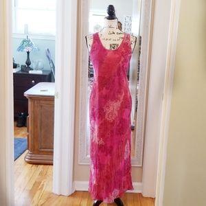ANN TAYLOR ▪︎Maxi Floral Sheath Dress, EUC